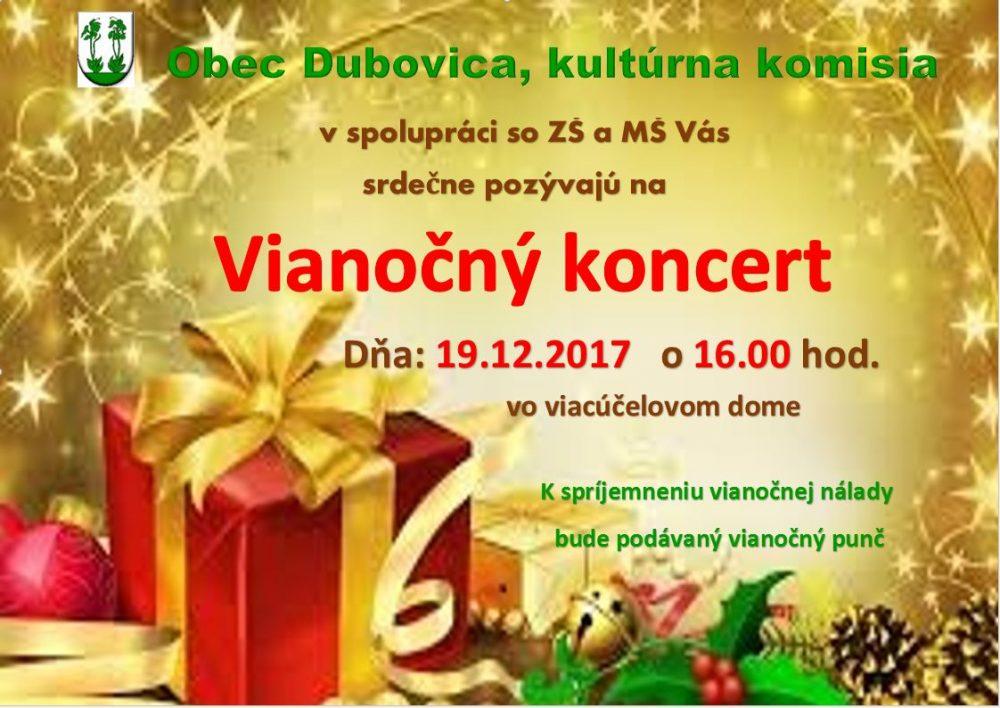Vianočný koncert 2017